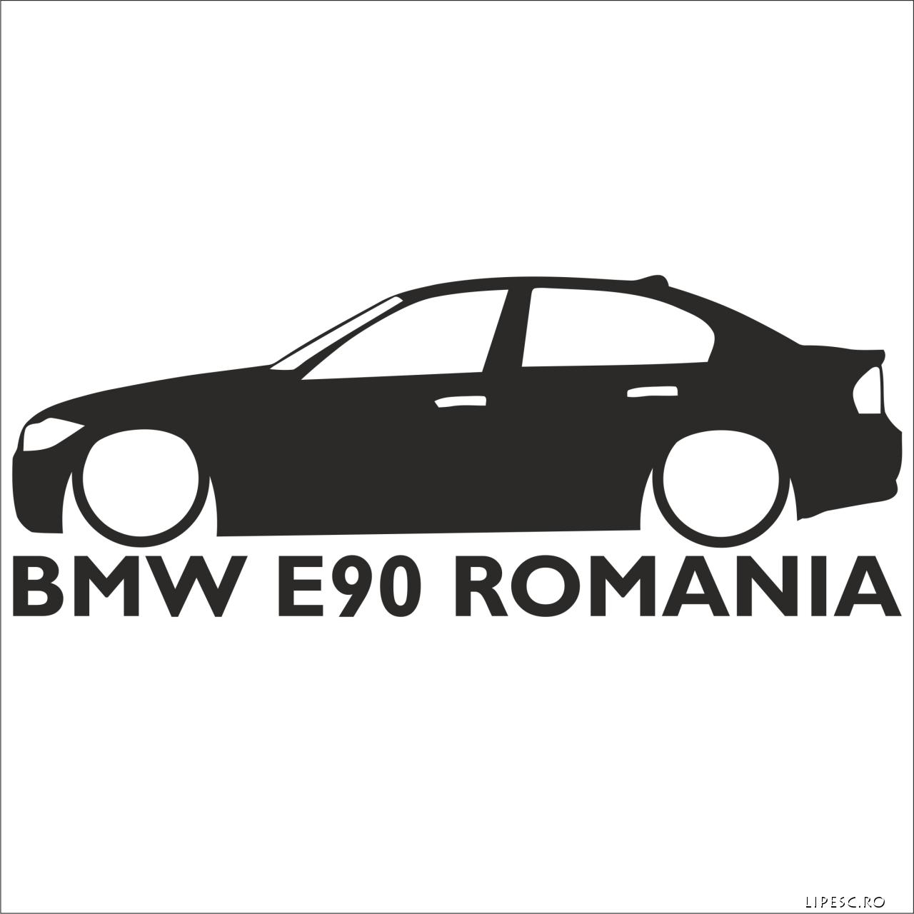 BMW E90 România