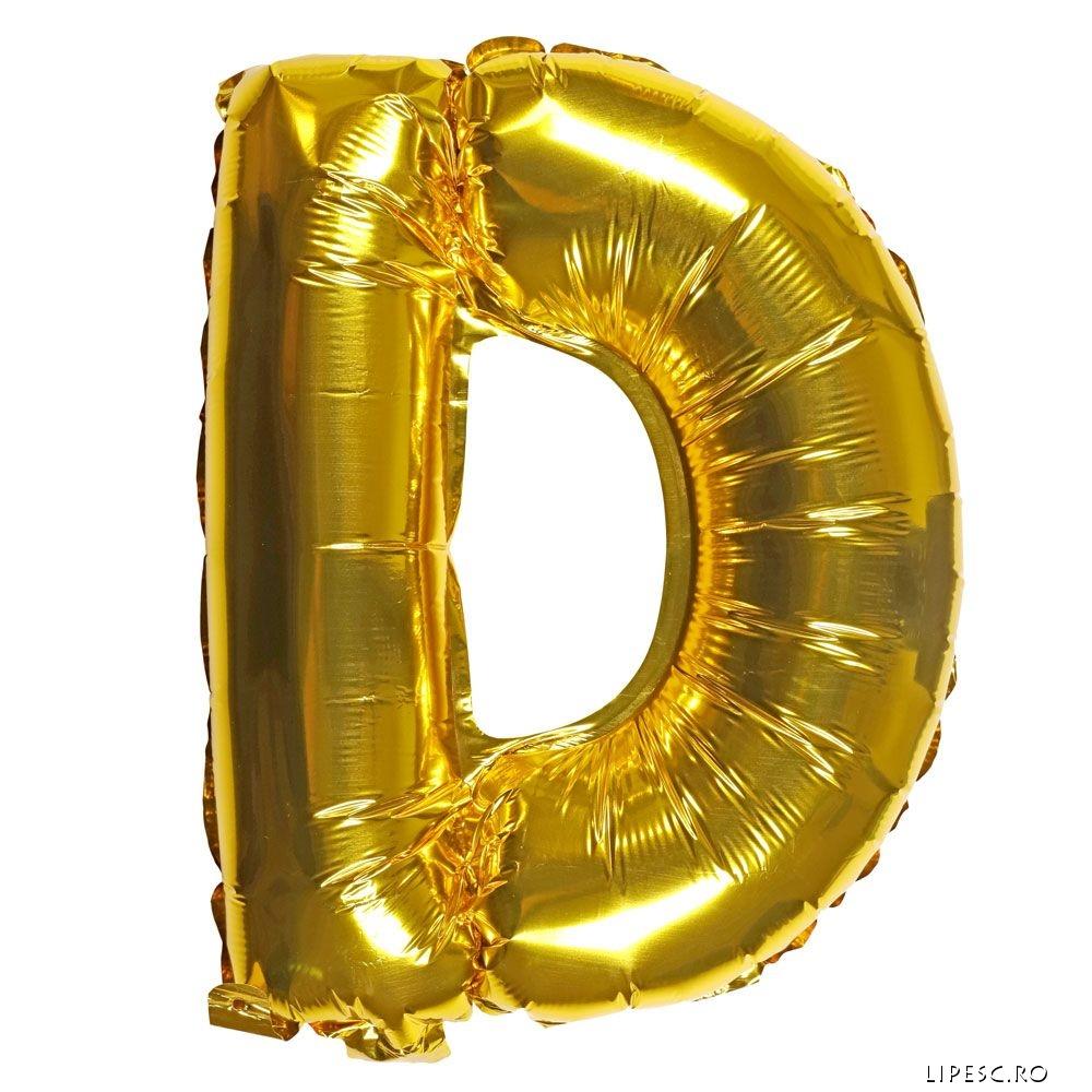 Balon litera D