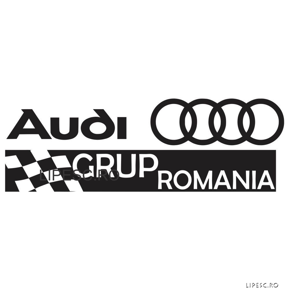 Sticker Audi Grup Romania