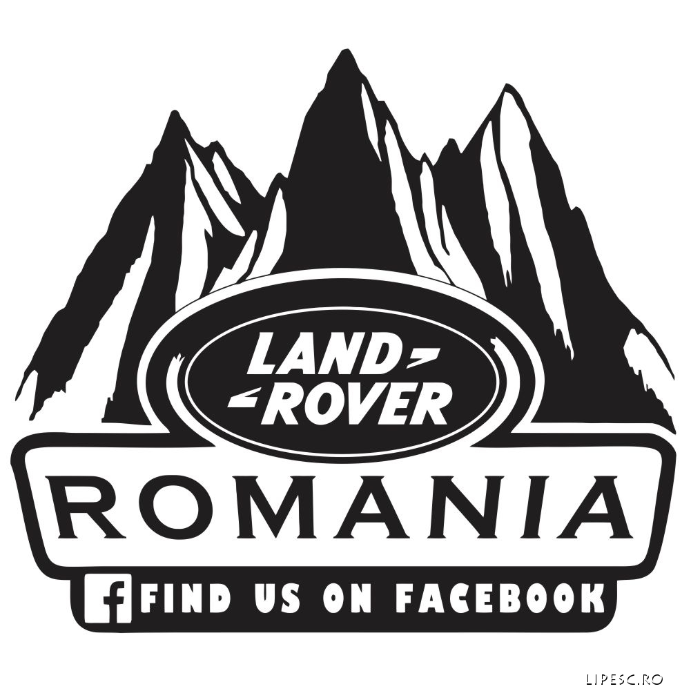 Sticker Land Rover Freelander Grup Romania