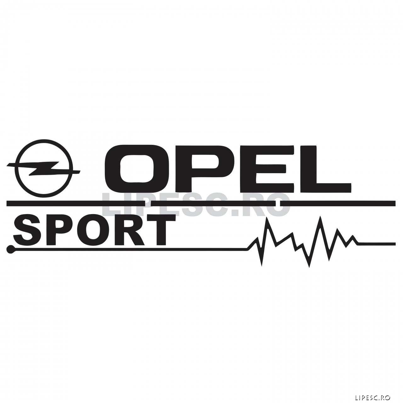 Sticker Opel Sport