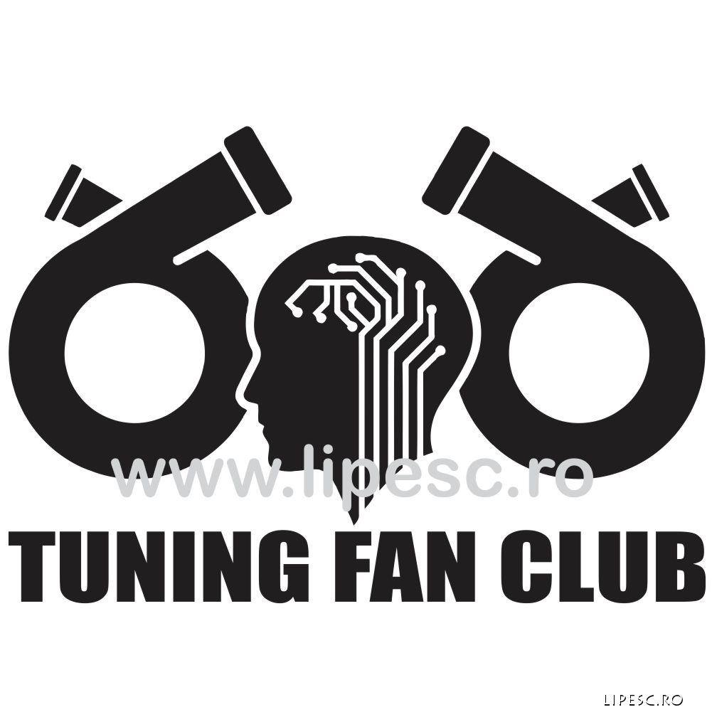 Sticker auto Tuning Fan Club