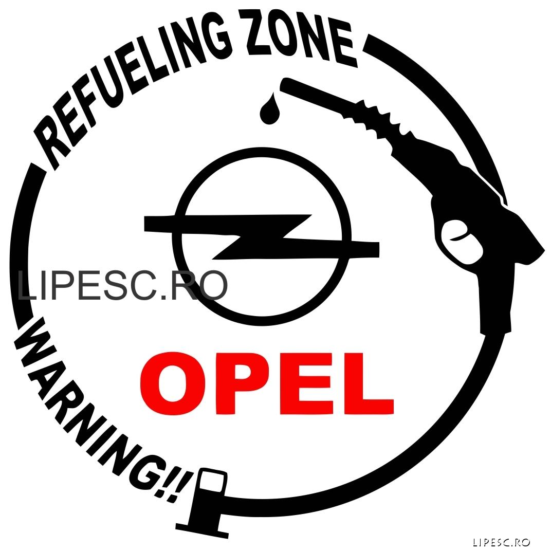 Sticker capac rezervor Opel