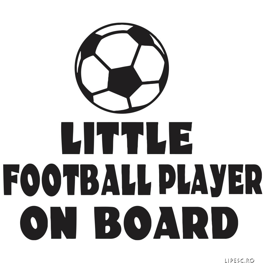 Stickere little player on board