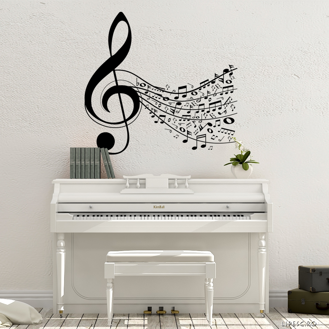 Sticker muzical