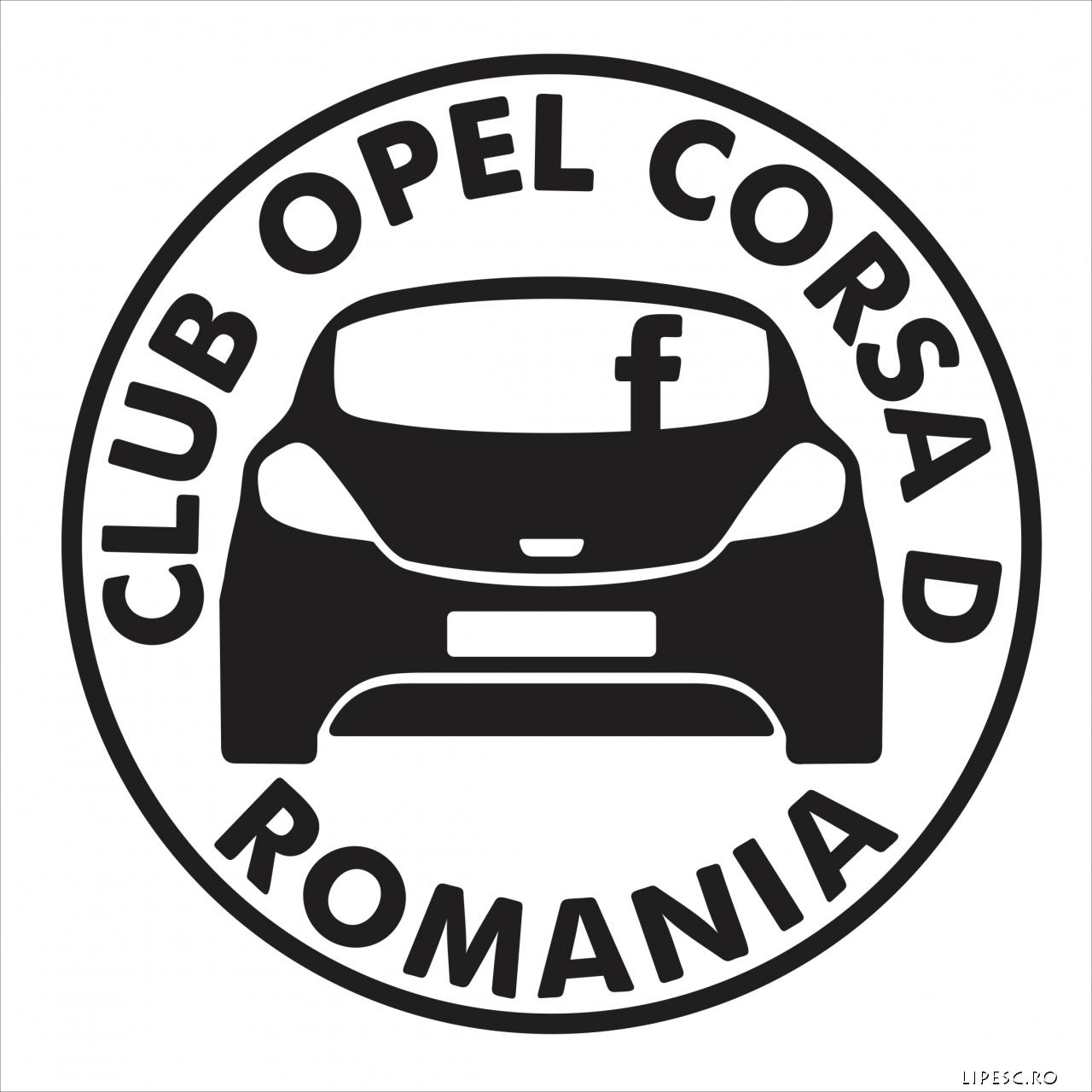 Sticker opel Club