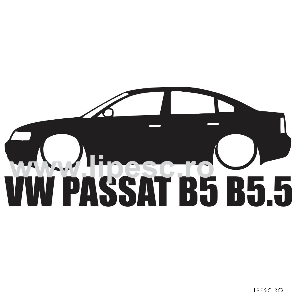 Sticker passat b5 / b5.5