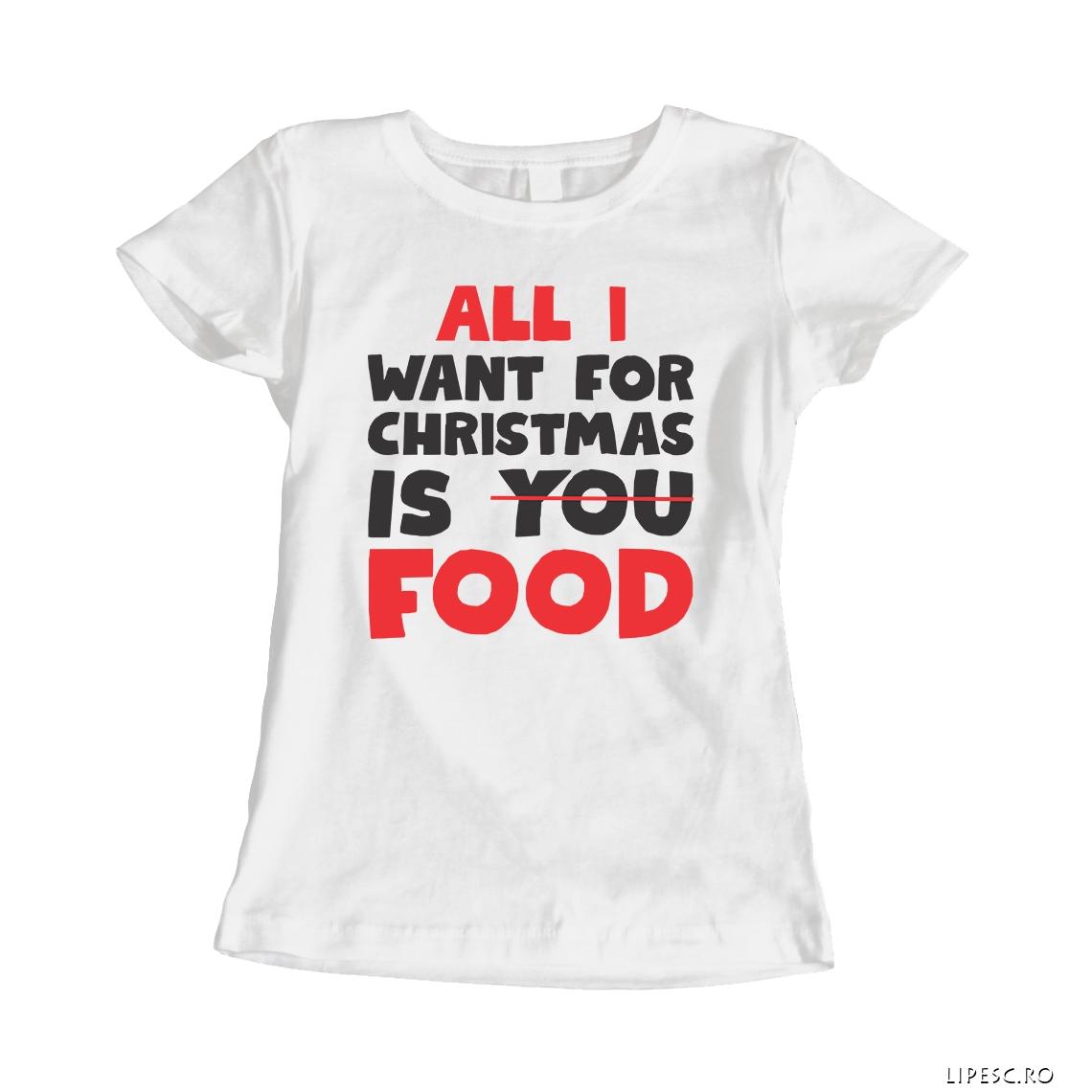 Tricou personalizat pentru Craciun