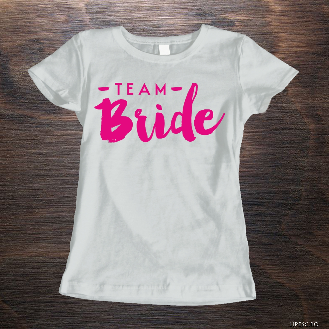 Tricouri personalizate team bride
