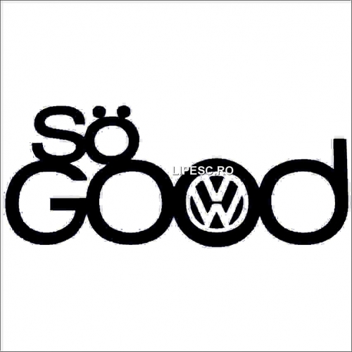 Sticker vw- so good
