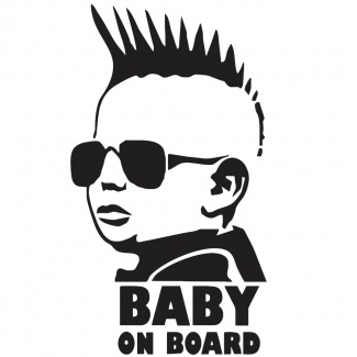 Autocolant Baby on board