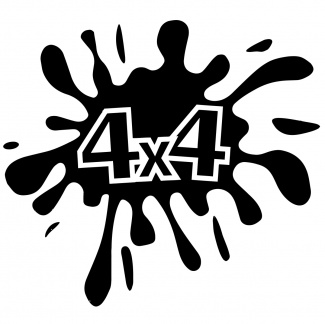Autocolant auto 4x4