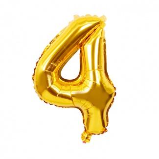 Balon cifra 4