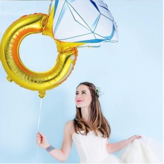 Balon inel gigant 105 cm