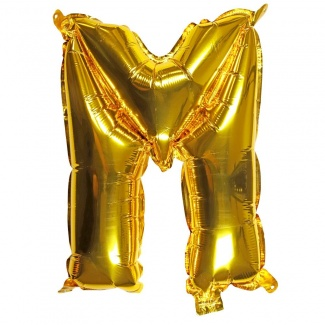 Balon litera M