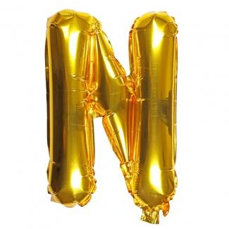 Balon litera N
