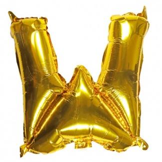 Balon litera W