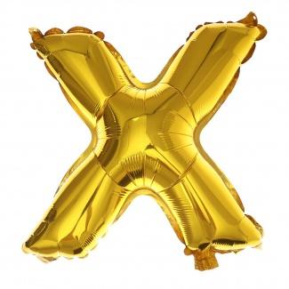 Balon litera X