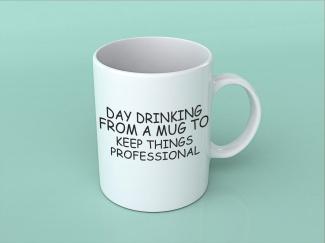 Cană personalizată profesional