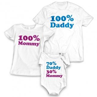 Set tricouri familie funny 2