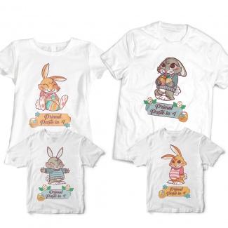 Set tricouri pentru paste - Primul Paste in 4