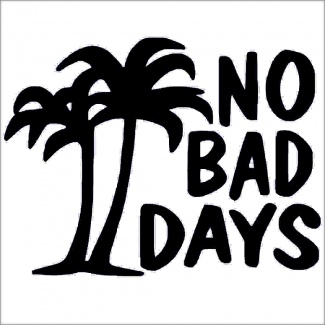 Sticker no bad days
