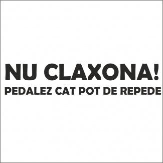 Sticker nu claxona