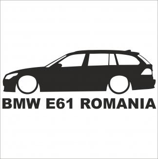Sticker Bmw E61