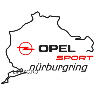 Sticker Opel - Nurburgring