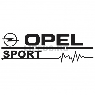 Sticker Opel Sport