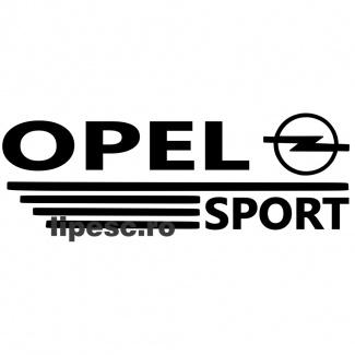 Sticker auto Opel Sport