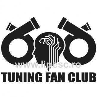 Sticker auto Tuning Fan Club