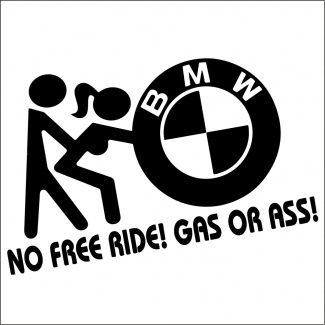 Sticker auto no free ride
