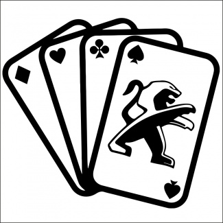 Sticker auto poker