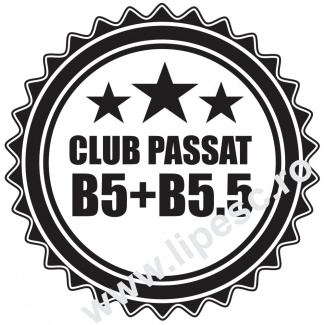 Sticker auto vw passat