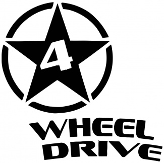 Sticker auto wheel drive