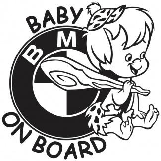 Sticker baby on board BMW - Baietel