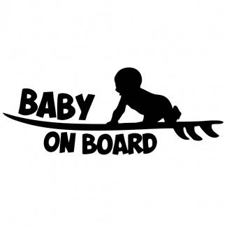 Sticker bebe on board