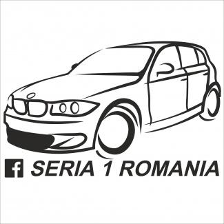 Sticker bmw seria 1