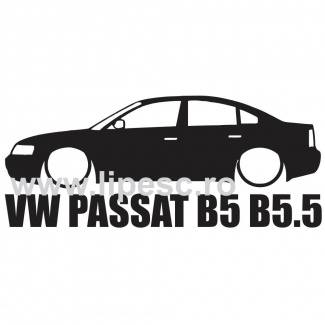 Sticker passat b5 / b5.5