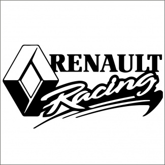 Sticker renault racing
