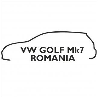 Sticker vw golf mk7 Romania