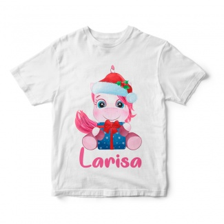 Tricou de copil Unicorn Santa