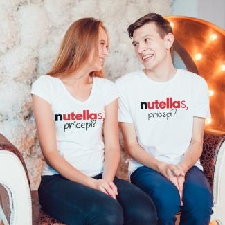 Tricouri cuplu Nutella1