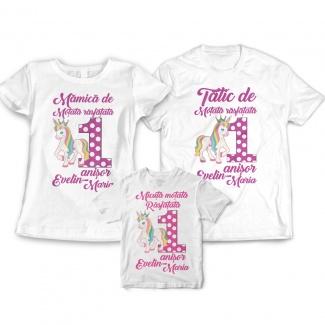 Tricouri aniversare fetita