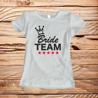 Tricouri bride team
