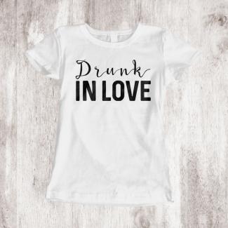 Tricouri burlacite drunk in love 1