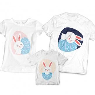 Tricouri familie pentru paste