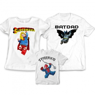 Tricouri personalizate familie
