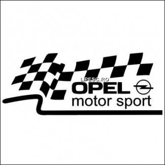 Sticker Opel motor sport